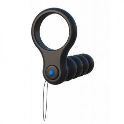 Bile anale si inel pentru erectie Fantasy C-Ringz Double Penetrator glonte vibrator